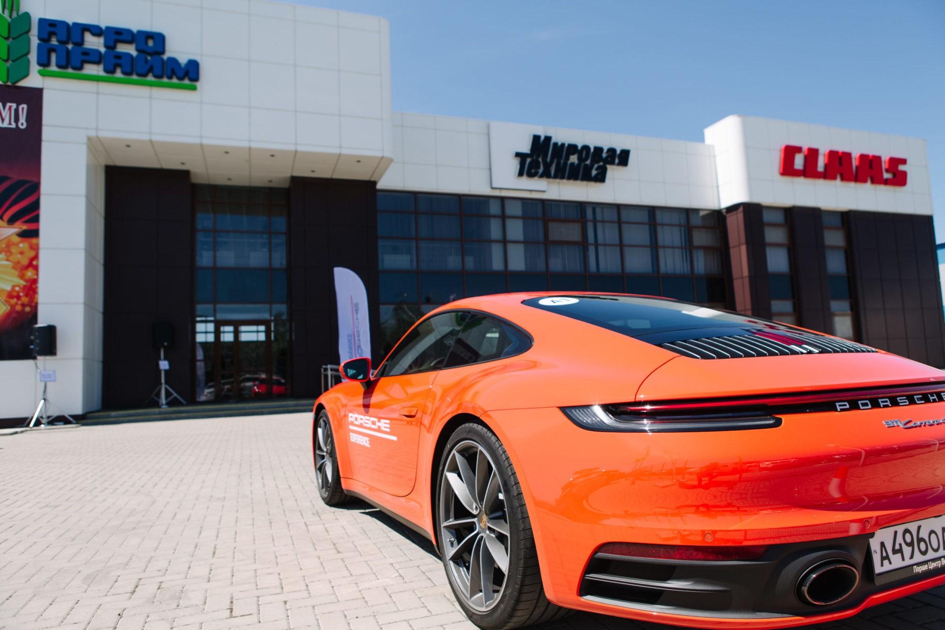 Тест-драйв автомобилей Porsche
